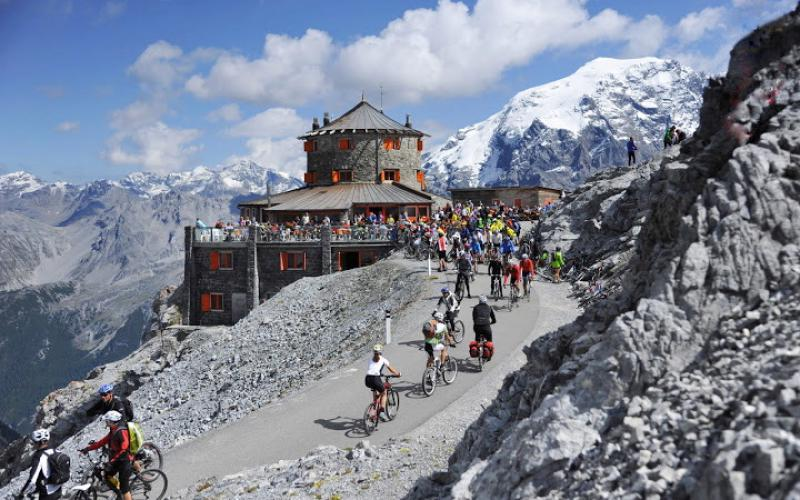Cycling day Stelvio Pass - Stelviobike